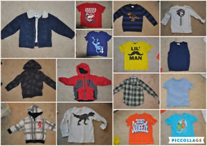 4T Jackets and shirts