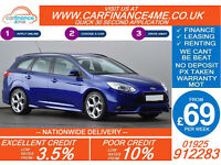 2013 FORD FOCUS 2.0 T ST3 GOOD / BAD CREDIT CAR FINANCE FROM 69 P/WK