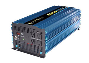 Power Bright PW3500-12 Power Inverter 3500 Watt 12 Volt DC To 11