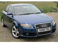 2006/06 Audi A4 2.0TDI S Line, **ONLY 44K MILES**, FSH, 2 KEYS