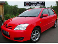 2005 TOYOTA COROLLA 1.6 VVT-I TSPIRIT AUTO 5DR - VERY LOW MILES - 12 SERVICES!