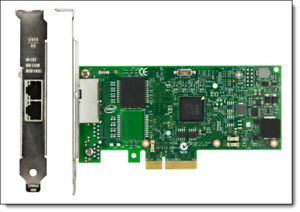Intel I350-T2 PCI-Express PCI-E Dual RJ45 Gigabit Ports Server