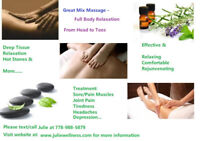 Sore Muscles/Tiredness/Headache...? Please try my massage