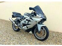 KAWASAKI ZX6-R NINJA SPORTS - EXCELLENT EXAMPLE - HPI CLEAR - PX