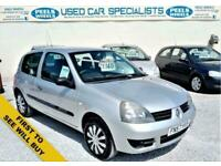 2007 57 RENAULT CLIO 1.1 8V CAMPUS 58 BHP * SILVER * PERFECT FIRST CAR *
