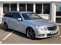 Mercedes E Class E220 CDI BLUEEFFICIENCY SE (silver) 2011