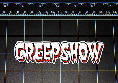 CREEPSHOW movie logo vinyl decal / sticker halloween comic horror 1980s 80s