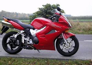2002 VFR800 rouge / red ABS