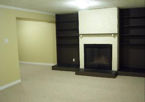 Classy one bedroom basement suite in West Edmonton (west end)