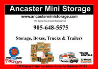 Boxes,Storage and Trucks available