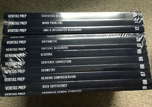 VERITAS PREP GMAT Complete Course Set - 12 books, SEALED