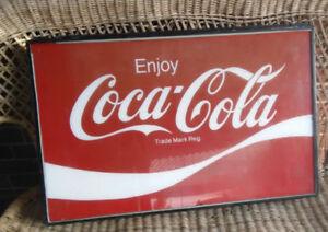Coca Cola sign 1960's