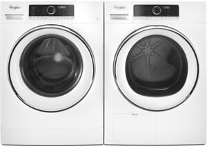 """Whirlpool WFW5090GW 24"""" Compact Washer and Dryer"""