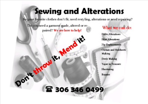 Sewing and alterations