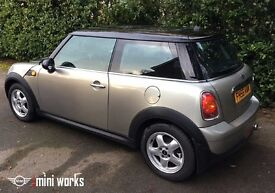 Great value 2007 Mini Cooper with very low mileage priced to sell