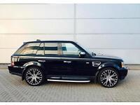 2005 55 reg Land Rover Range Rover Sport 4.2 V8 Supercharged Black + HUGE SPEC
