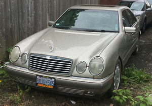 1996 Mercedes-Benz E-Class Sedan