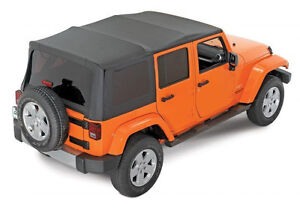 Soft top for 4 door Jeep. New-fits 2007-2017