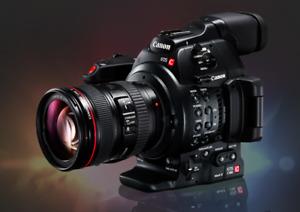 Canon C100 Mark ii body, box, all accessories, mint condition