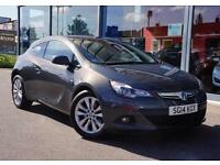 2014 VAUXHALL ASTRA GTC 1.4T 16V 140 SRi LEATHER, DAB and ALLOYS