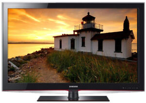 """46"""" Samsung LCD 1080p TV w/ Stand and Remote"""