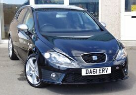 2011 (61) Seat Leon 2.0 TDI FR+ 170 BHP, Only 41,000 Miles, Immaculate Condition, Huge Spec, £9,995