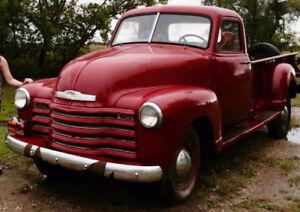 1949 Chevrolet K/V 20/2500 6CYL 4 manual 9 foot dump