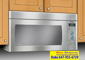 Industrial, Couter Top, Over The Range Microwave Repair