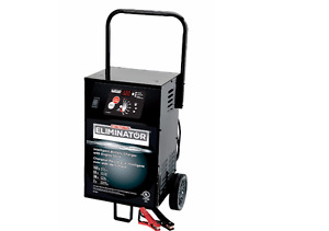 RENTAL: MotoMaster Eliminator Wheeled Battery Charger, 55/20/2A