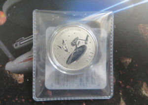 Star Trek Canadian Mint Collector 2016 Enterprise Silver