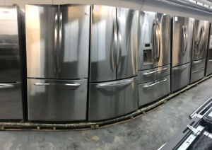 GREAT STAINLESS STEEL FRIDGES WITH 1 YEAR WARRANTY