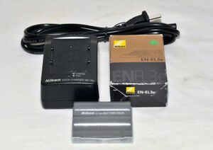 Nikon MH-18a Quick Battery Charger& battery for Nikon camera