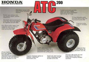 Honda ATC Hitch & parts