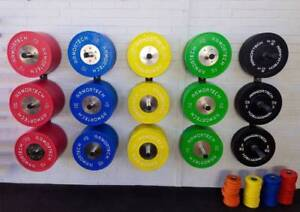 New Armortech Competition Bumper Plate Package-Gumtree Special