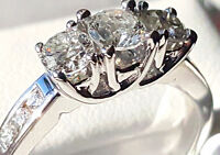 Amazing Engegement Diamonds Ring 1 Ct with appraisal