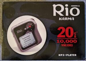 Lecteur MP3 Rio Karma (objet de collection)