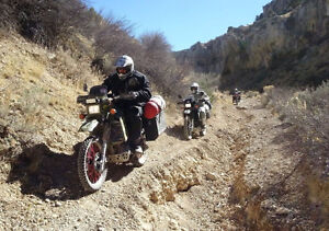 -- KLR or KTM or ?.-->  for a pro WEB SITE (37 years experience)