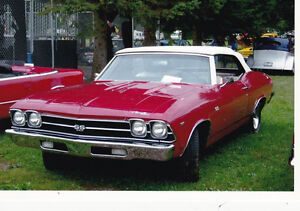 1969 Chevelle SS Convertible