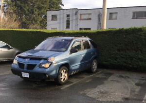 LOWERED EVEN MORE: 2002 Pontiac Aztek SUV, Crossover