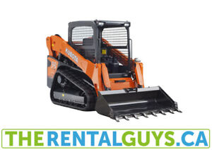 Bobcat Rentals - Compact Track Loader Free Delivery Calgary
