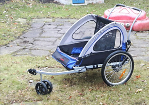 Schwinn trailer/3 wheel stroller