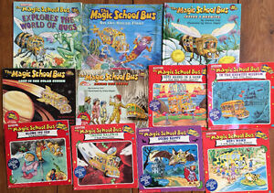 MAGIC SCHOOL BUS children's books -$3 each or all 11 for $20