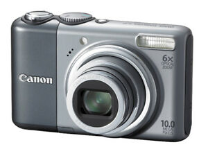 CANON POWERSHOT A2000IS 10MP DIGITAL CAMERA WITH 6X OPTICAL IMAG
