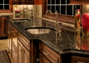 QUARTZ KITCHEN COUNTERTOPS - $1999 INSTALLED + FREE VANITY