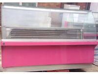 Commercial display fridge for restaurant n food, ideal for restaurants