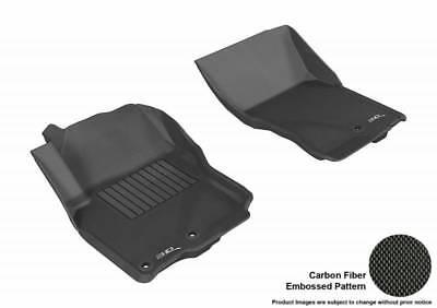 3D MAXpider 2005-2018 Fits Nissan Frontier 1st Row Embossed Pattern Floor Mat