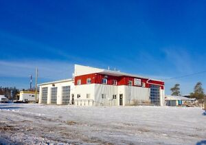UNRESERVED AUCTION - SHOP & OFFICE BUILDING - WHITECOURT, AB