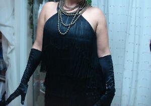 Costume d'halloween-robe Charlie Chaplin-grandeur médium