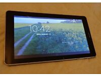 """Generic android 9"""" screen wifi & cellular dual sim Phablet & charger. 4gb internal memory. VGC £40"""
