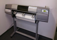 large format hp printers 5000 ps Colour 42""